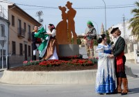 La escultura a La Duquesa de Benamejí