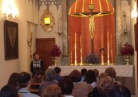 La cofradía del Cristo de la Buena Muerte vuelve a abrir las puertas de la capilla del Cementerio
