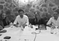 La parlamentaria Rosario Alarcón explicó la propuesta del PP sobre la Estación Náutica